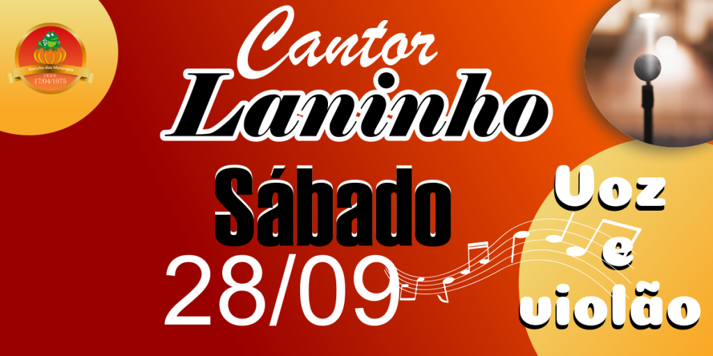 Cantor Laninho (voz e violão)